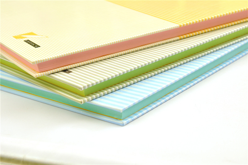 A4-cute-rainbow-hardcover-notebook-Composition-Book-with-color-inner-paper-Diary-Notepad-business-notebook-A4100